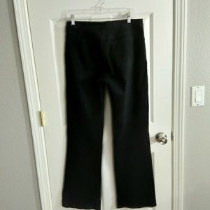 NYDJ black flare jeans size 10